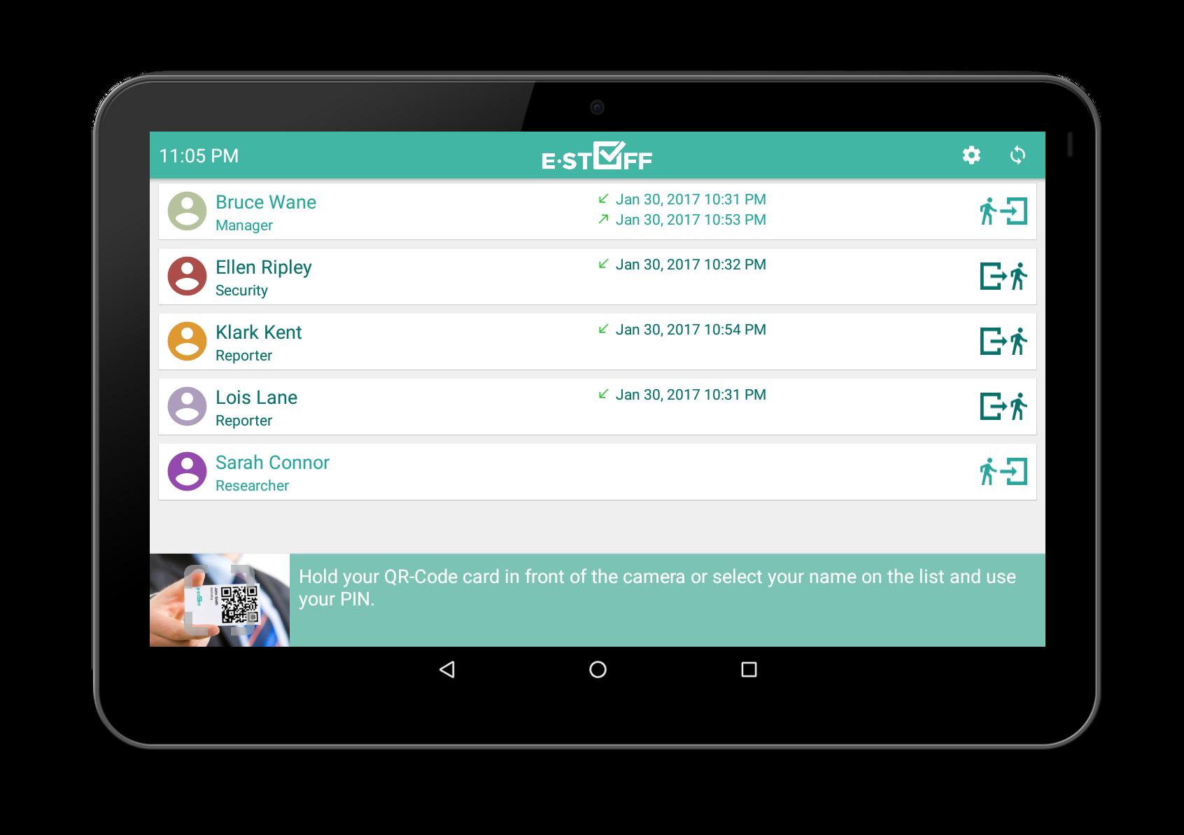 estaff time and attendance cloud platform
